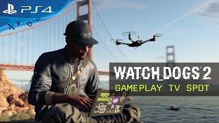 Watch Dogs 2 - Játékmenet Tévéreklám