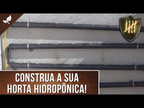 Projeto: Horta Hidropônica vertical em PVC (Pt 1 - Construção)