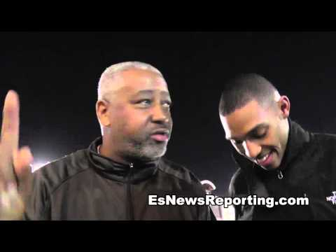 sam watson on future star Justin Deloach EsNews Boxing