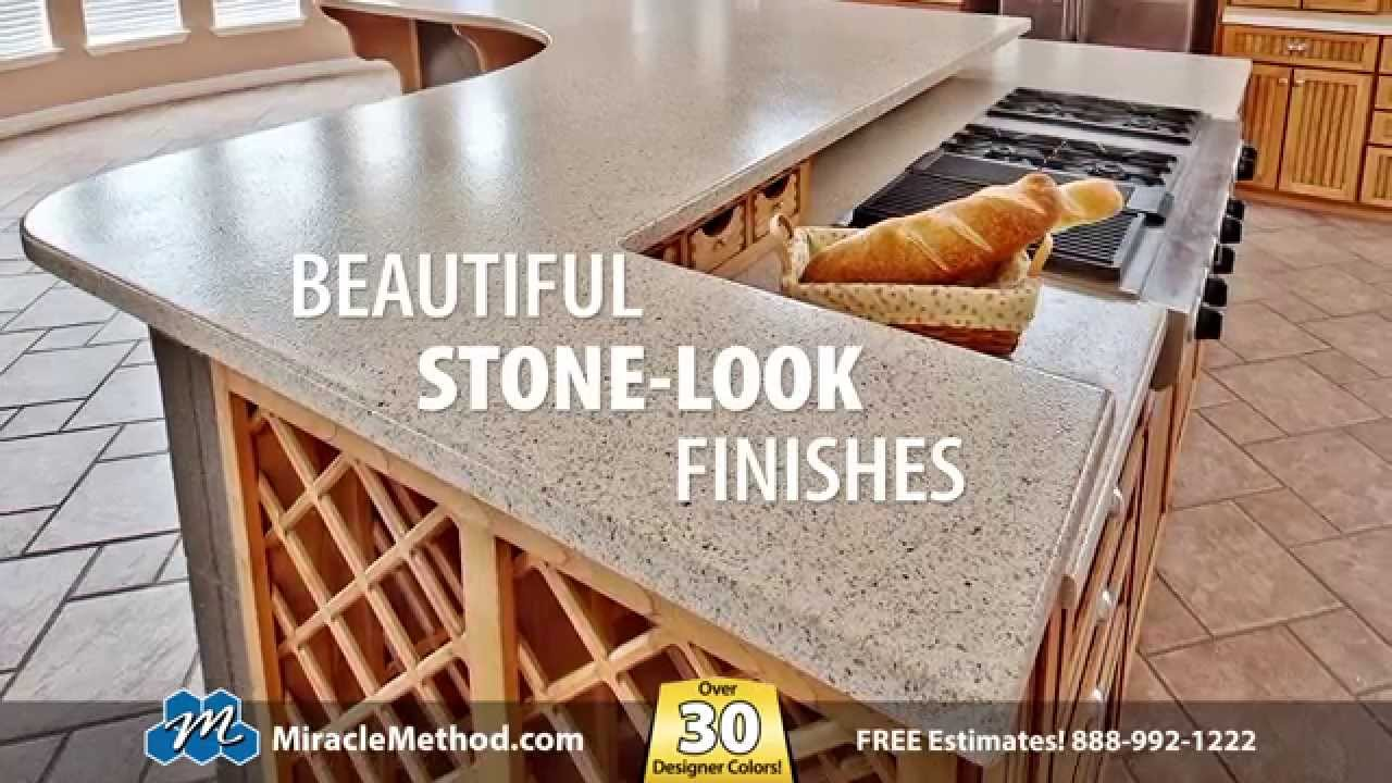 Miracle Method Countertop Refinishing Youtube