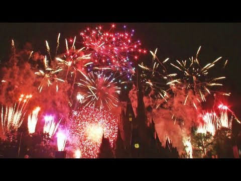 """Wishes"" Fireworks Show at  Walt Disney World's Magic Kingdom"