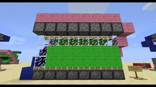 How To Build A Digital Clock In Minecraft, Part 1 [In Game