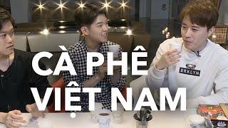 Ca sỹ Hàn Paul Kim lần đầu uống cà phê Việt Nam | KTV V LIVE