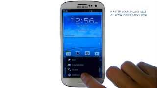 Samsung Galaxy SIII How Do I Sync Contacts And Calendar