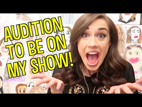 YOU CAN AUDITION TO BE ON MY NETFLIX SHOW!