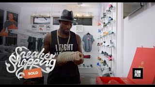 Dez Bryant Goes Sneaker Shopping With Complex