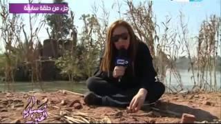 صبايا الخير ريهام سعيد تكشف للمره الثانيه  كارثة اختلاط مياة النيل والصرف الصحى #SabayElKheer
