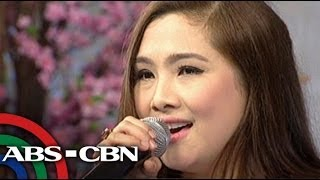 Sheryn sings 'Starting Over Again' theme song