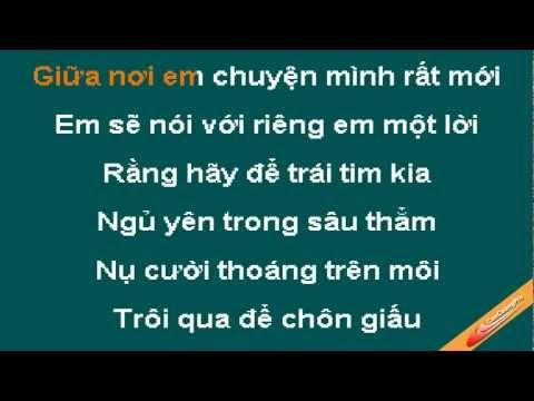 Noi Nho Mua Dong Karaoke - Luu Huong Giang - CaoCuongPro