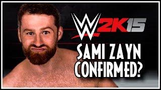 WWE 2K15 NXT Star Confirmed Sami Zayn!