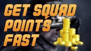 Call Of Duty: Ghosts HOW TO GET MORE SQUAD POINTS FAST