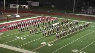 Kenton Ridge Marching Cougar Band at the 2013 Wayne Band Show view on youtube.com tube online.