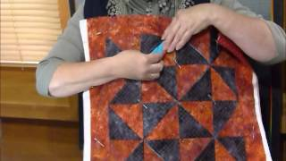 How To Make A Fun Block With Squares And Folds Quilting