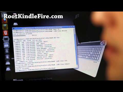 Kindle Fire Root for Mac or Linux! [New][6.2.1]