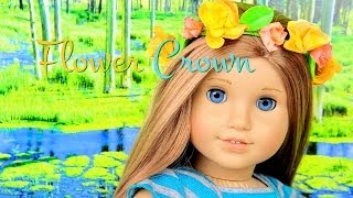 How To Make A Doll Flower Crown