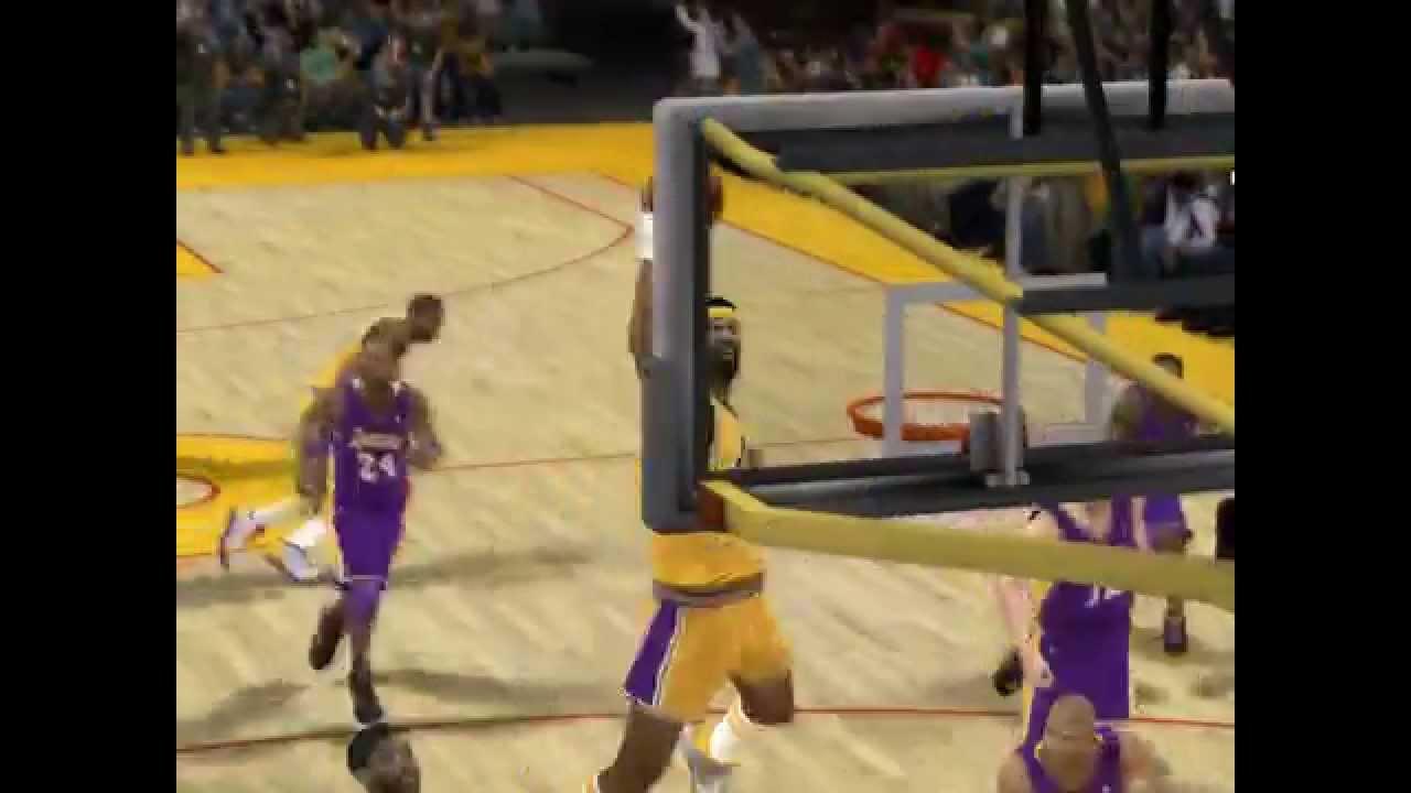 Wilt Chamberlain Free Throw Line Dunk NBA 2K12 - YouTube