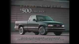 1995 GMC Sonoma 5-Speed commercial