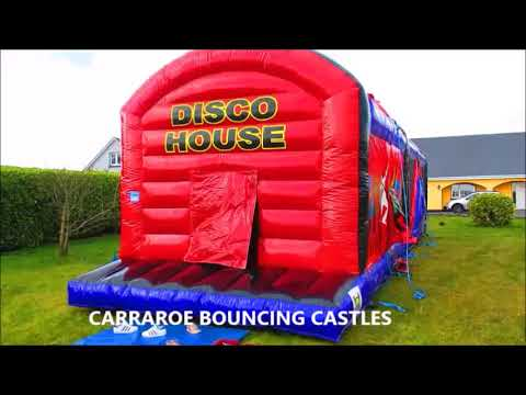 DISCO BOUNCE HOUSE  💖OBSTACALE COURSE 💖 BOUNCY HOUSE 💖 BOUNCING CASTLES 💖💖