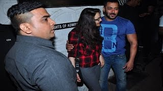Salman Khan SLAPS His Bodyguard ?
