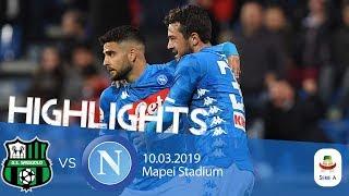 HL - Sassuolo V Napoli 1-1
