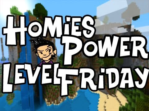 Homies Power Level Friday: AdventureCraft Ep.6 (2 Dungeons 1 Vid)