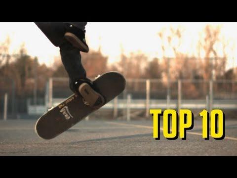 TOP 10 MANOBRAS DE SKATE DESCONHECIDAS