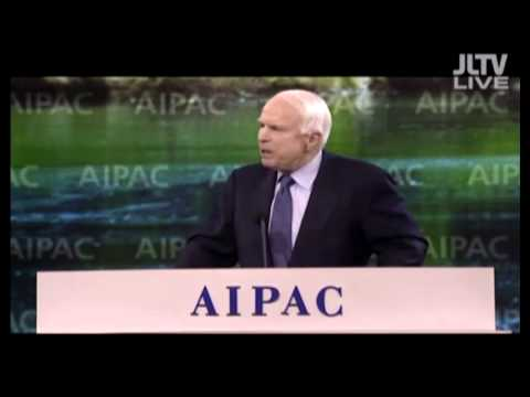 John Mccain at AIPAC Conf. 2014