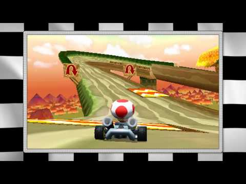Mario Kart 3D - Trailer