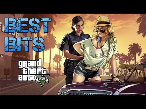 Grand Theft Auto V | FUNNY & BEST BITS MONTAGE COMPILATION | Funniest Moments