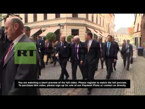 Germany: Fabius, Steinmeier and Sikorski tour Weimar during trilateral meeting