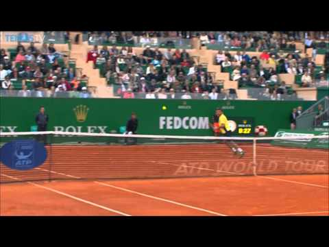 Monte-Carlo 2014 Final Hot Shot Wawrinka
