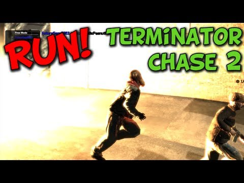 RUN! Terminator Chase 2 - GTA 4