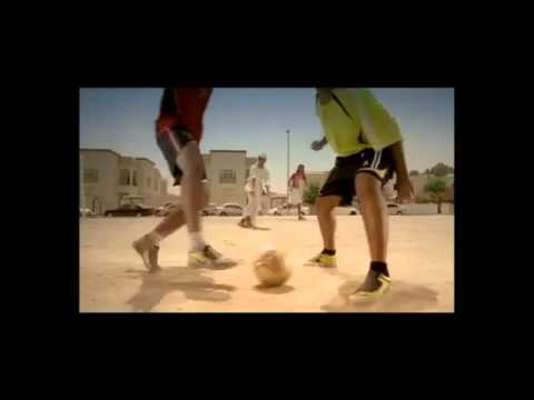 Abdulla Afghani commercial for Abu dhabi sport channel - www.freestyleworldfootball.com