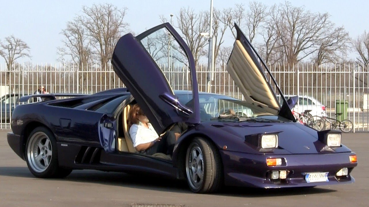 modified lamborghini diablo vt v12 engine sound youtube. Black Bedroom Furniture Sets. Home Design Ideas