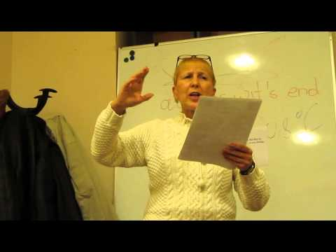 Ukraine, Kiev, 2014: Toastmasters English Club: Lucy: Evaluator's speech
