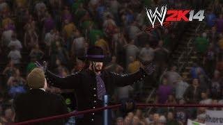 """WWE 2K14"" How-To: The Undertaker Vs. King Kong Bundy"
