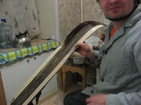 Как готовить лыжи в домашних условиях видео - Device812.ru
