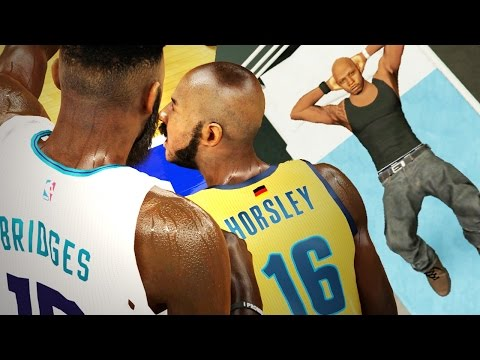 The NBA 2k16 Horsley My Career Story Ep. 6 of 10 - Hospitalized! Finals MVP Bridges vs Horsley