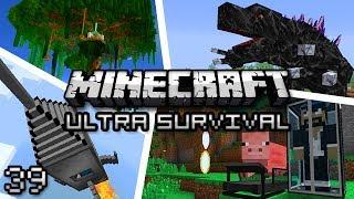 Minecraft: Ultra Modded Survival Ep. 39 - STRIP MINE!