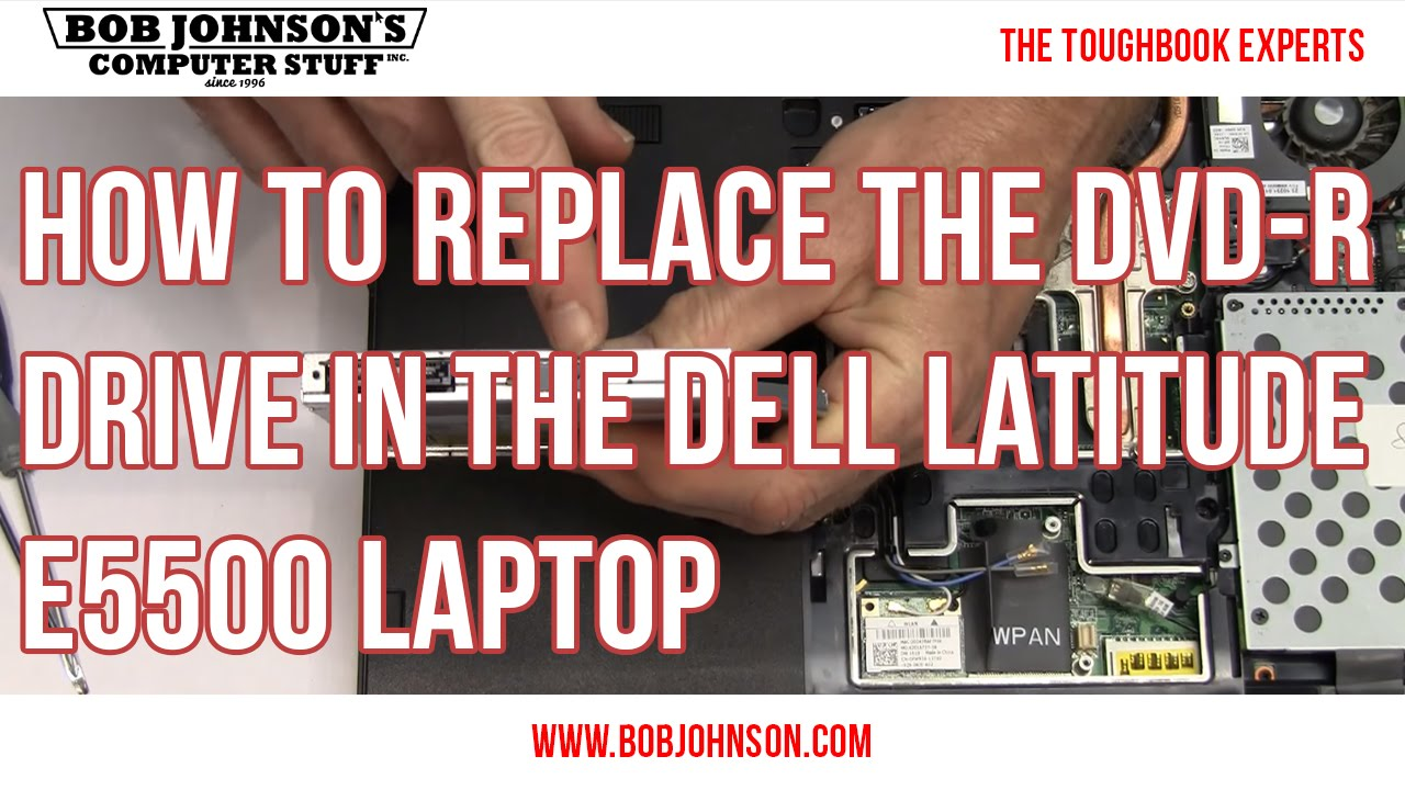 how to replace dvd drive with ssd dell
