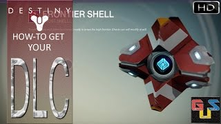 Destiny How To Access Your Ghost Skin (Frontier Shell) DLC