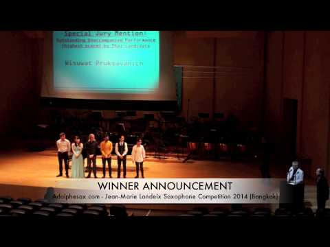 JMLISC 2014: WINNER ANNOUNCEMENT