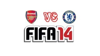 FIFA 14 Gameplay Arsenal Vs Chelsea