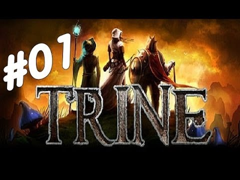 Trine #01 - Conhecendo os personagens
