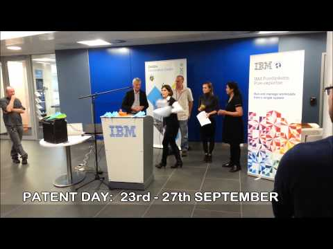 Patent Day Event Announcement (IBM Ireland)