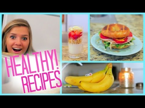 Healthy Food Ideas! Breakfast Lunch and Snacks | Fitness with Eva