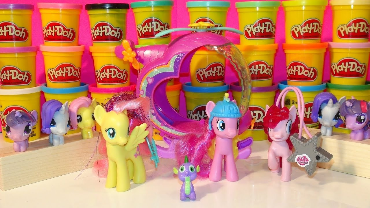 Play Doh Rainbow Dash Stop Motion Playdough My Little Pony ...