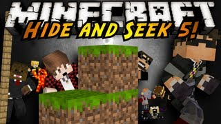 Minecraft Mini-Game : HIDE AND SEEK 5! (Special Youtuber Episode)