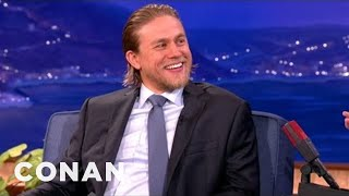 Charlie Hunnam Kicks Burglar Ass Regularly