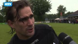 Ruud Swinkels en Werner Kastelijn na afloop Audacia - Willem II